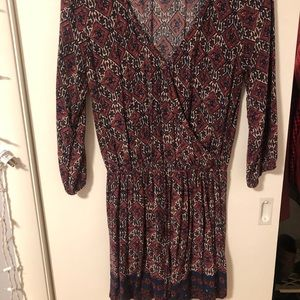 Hollister Three Quarter Sleeve Romper